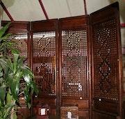4 Panneaux. Galerie Gracieuse Orient