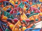 Marché coloré. Raymond Bayard
