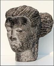 «Tête en pierre». Philippe Clérin