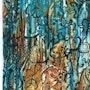 Erinnerungen Felsmalereien. Robert Bosch