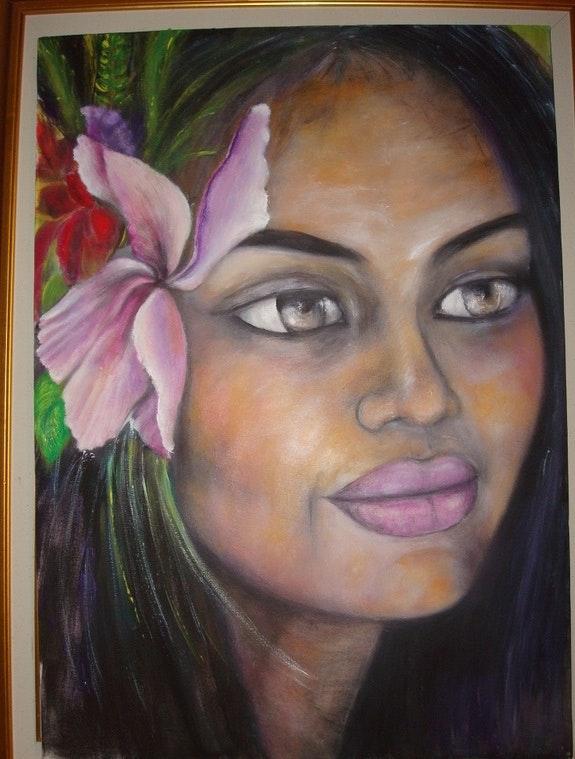Frau Polynesie. Cbellevegue Cricri