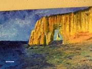 Los acantilados de Etretat.