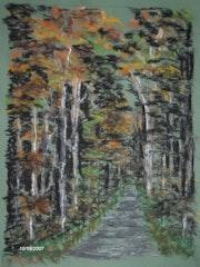 Senart en el bosque.