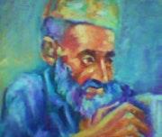 Retrato de un viejo.