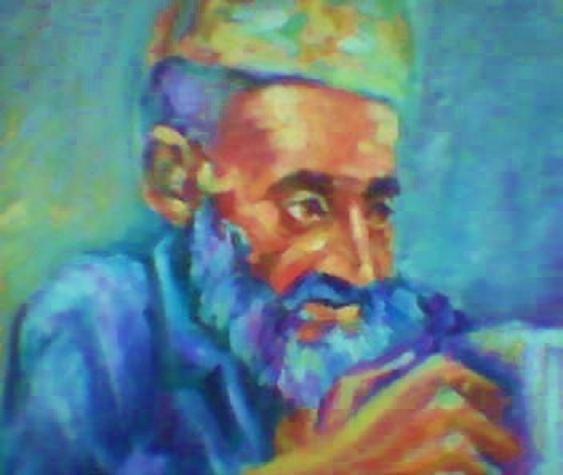 Retrato de un viejo. Rizwana Rizwana Sohail