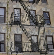 Staircase in New York.