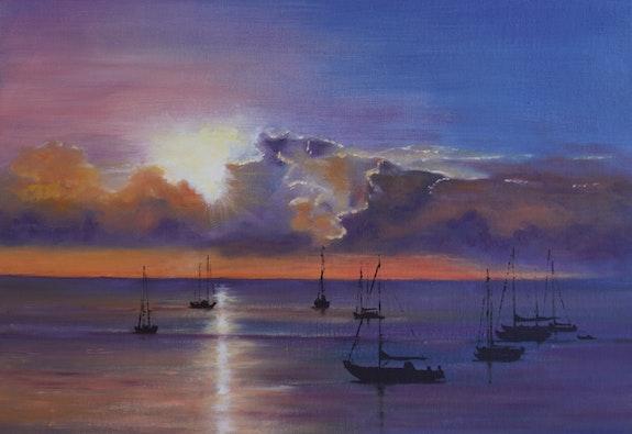 Sunset. B. Sannier Bernard Sannier