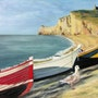 The cliffs of Etretat. Bernard Sannier