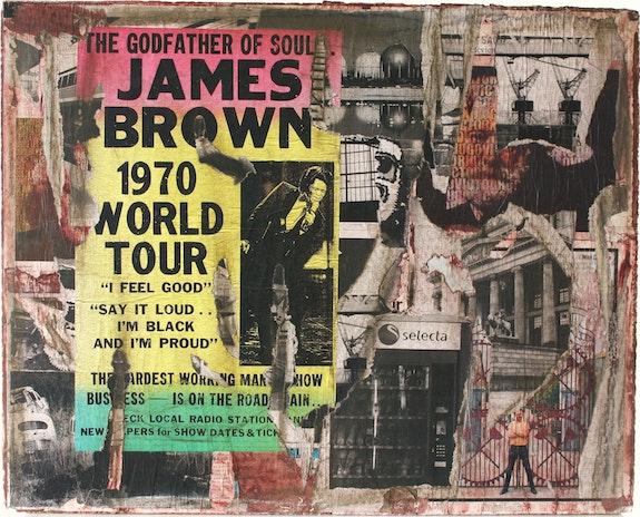 Geist der Wand, «James Brown». Damian Damiàn