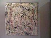 Gemälde amerikanischen abstrakten Expressionismus Trend 50er Jahre.
