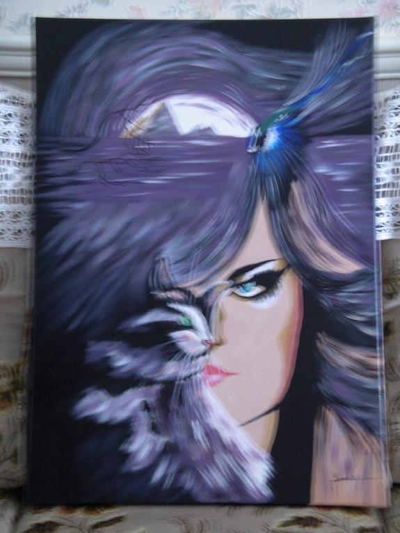 Alegoría de Luc Genot. Brunat Daniel Artiste Peintre Amateur