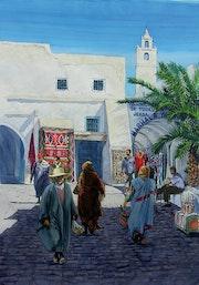 La jaula de las aves en Djerba. Thierry Duval