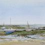 Hafen bei Ebbe. Thierry Duval