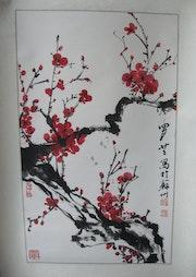 LSP02 Red Plum I. Luolan Shen