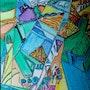 La mezcla Luberon Fauvismo y Cubismo. Yio