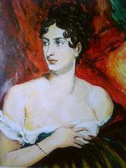 Mademoiselle George nach François Gérard.