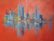 Reihe: Städte Titel: poissonenville. Sarah Castille
