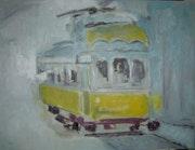 Amarillo tranvía.