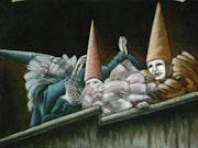 Masques fantômatiques. Claire Abrieux Conseil