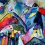 Aqua d'après Kandinsky. Marief
