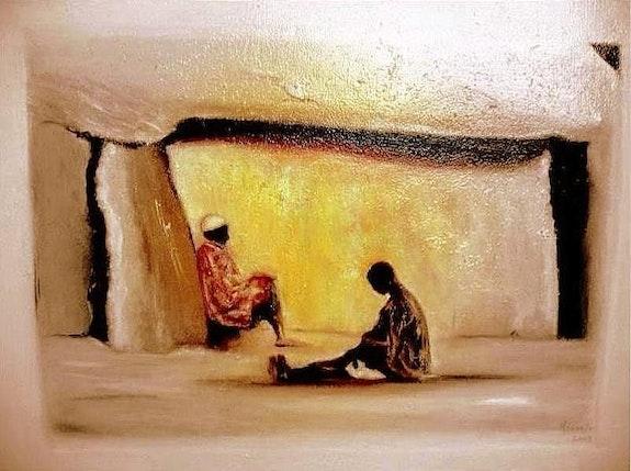 African scene. Marie Josée Minondo Marie Josée Minondo