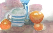 Cup and Orange. Angela Conway