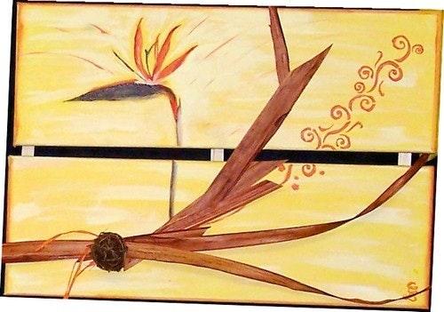 Oiseau de paradis. Cocrea Corinne Leboeuf