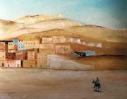 Paysage d'Egypte..