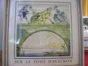 Sur le pont d'Avignon, Vieilles chansons Françaises. Mario Longpré