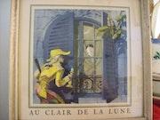 Au clair de la lune… «Vieilles chansons Françaises».