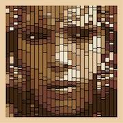 Mujer bereber - OpticalArt - vector de transformación. Doulache