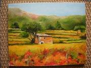 «Farben im Herbst in der Provence».