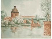 Toulouse Quais der Goldbrassen.