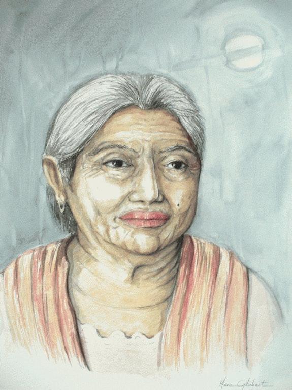 Portrait mexicaine chiappas. Marc Gilabert Marc Gilabert
