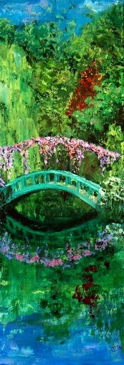 The Japanese bridge of Monet.