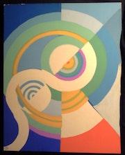 Composición con círculos y discos, galería de símbolos («circular»).. Historien d'art, Archéologue; Chercheur Free-L.