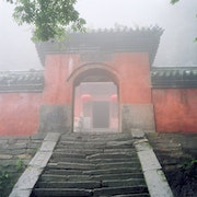 Wudangshang-porte temple. Patricia Huchot