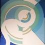 S. Delaunay: Composition discs and circles, stencil. Historien d'art, Archéologue; Chercheur Free-L.