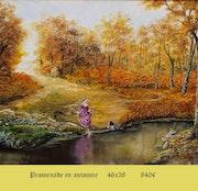 Spaziergang im Herbst.