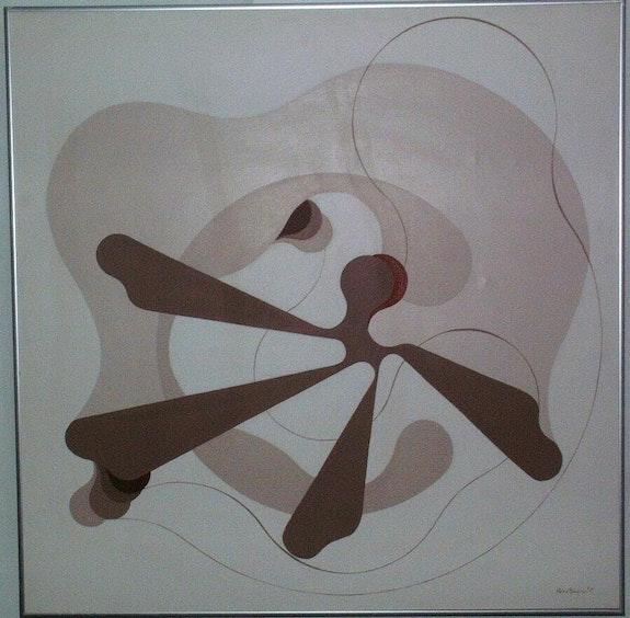 Explosione Duo 1976. Alfredo Brusorio Alfredo Brusorio (Artiste Peintre)