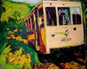 Straßenbahn touristischen Aisne. Jaja