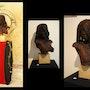 Bust of an African woman. Guillaume Séauve