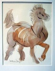 Cambio caballos.
