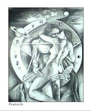Pentagramm. Christine Aldegheri