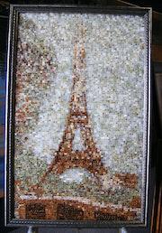 Studium der Eiffel-Turm Georges Seurat.