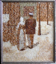 Digital Photograph of Charles Angrand's Couple in the Street. Serge Jouk