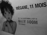 Display-Werbung - Metro - September 2009. Anne Verron