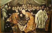 L'Enterrement du Comte d'Orgaz, d'après Le Greco. Teresa Moreno