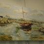 Boot bei Ebbe. Theopeinture