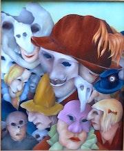Magritte emerge.